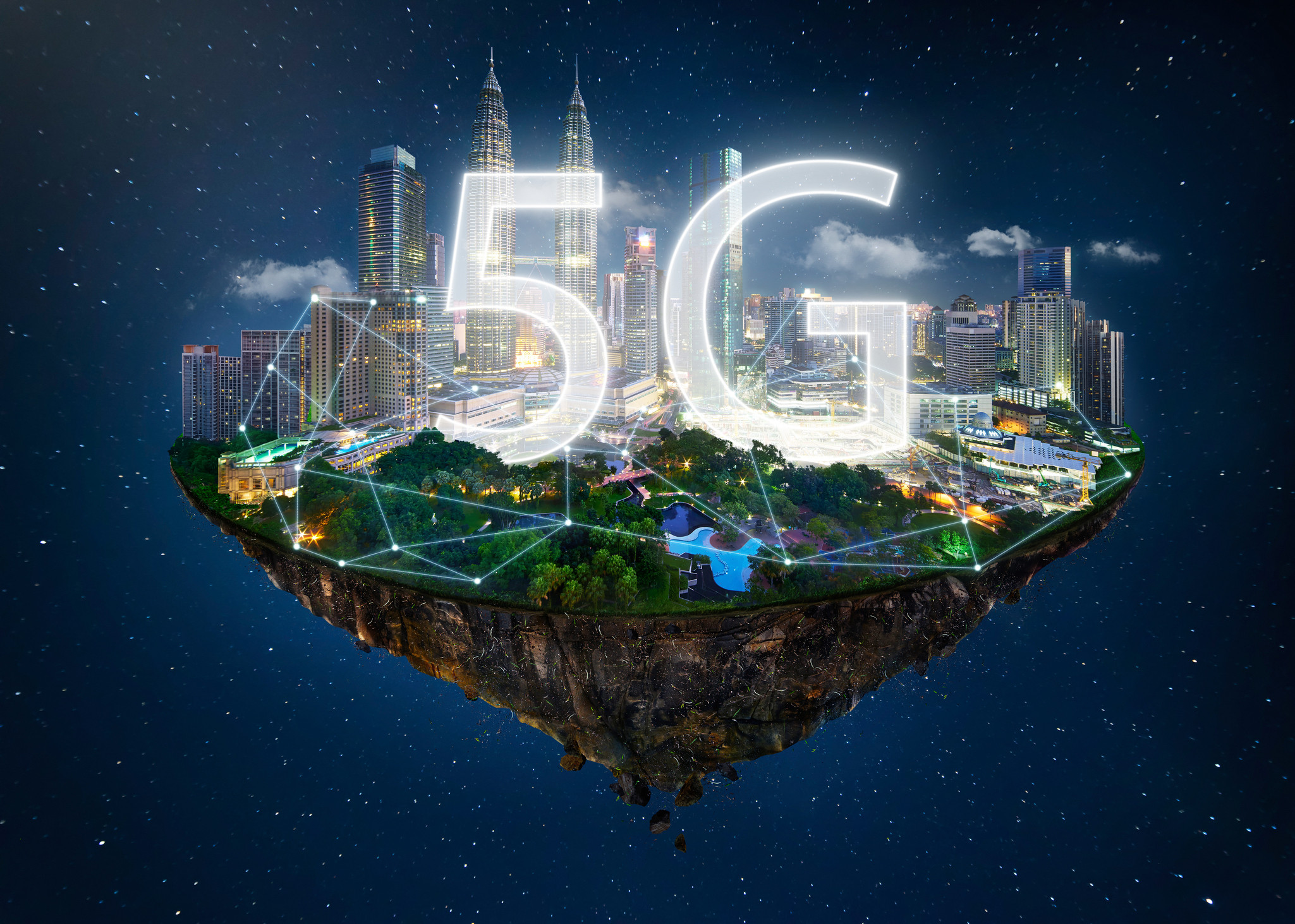 Mobile Technology: 5g Mobile Technology. Large ScaleHugh Leap Change In